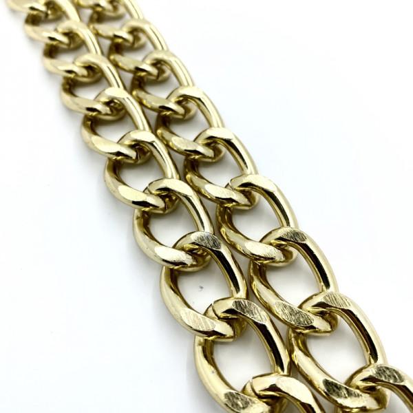 Αλυσίδα Χρυσό Χοντρή 1.5cm  (1 μέτρο)