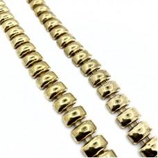 Αλυσίδα Χρυσό Καρε Μεσαίο 1cm  (1 μέτρο)
