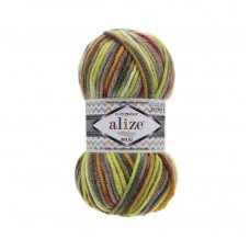 Alize Superlana Maxi Multi Color 52149